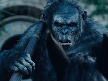 Koba in Dawn of the Planet of the Apes.