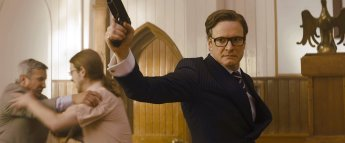 Colin Firth als Harry ''Galahad'' Hart.